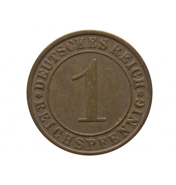 Германия 1 пфенниг (reichs) 1932 г. A