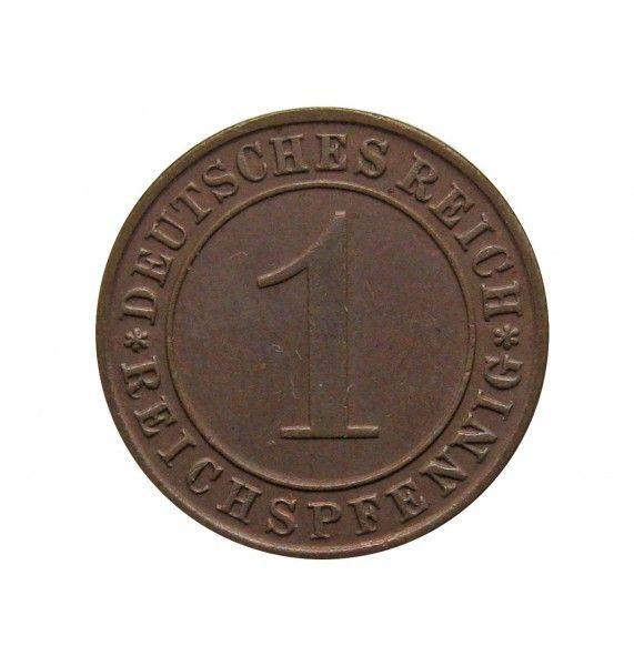Германия 1 пфенниг (reichs) 1935 г. D