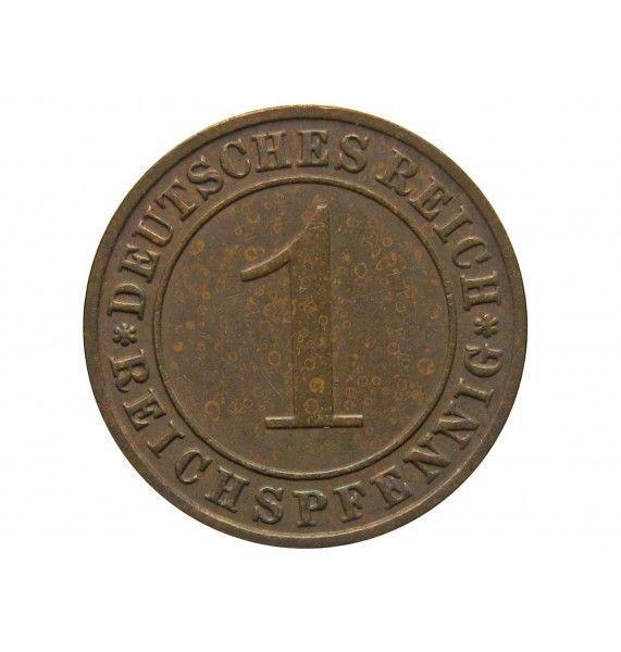 Германия 1 пфенниг (reichs) 1935 г. F