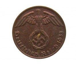 Германия 1 пфенниг 1938 г. G