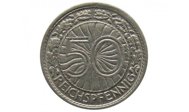 Германия 50 пфеннигов 1930 г. A