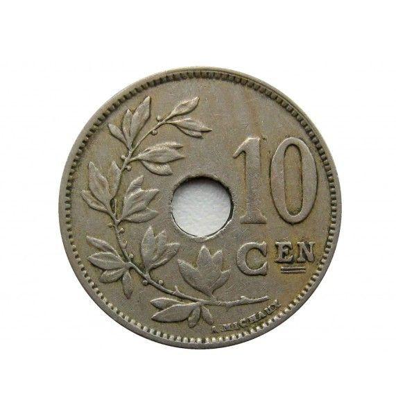 Бельгия 10 сантимов 1924 г. (Belgie)