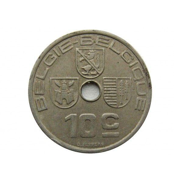Бельгия 10 сантимов 1939 г. (Belgie-Belgique)