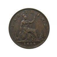 Великобритания 1 фартинг 1879 г.