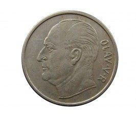 Норвегия 1 крона 1970 г.
