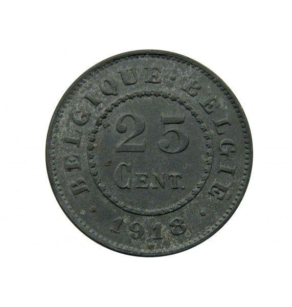 Бельгия 25 сантимов 1918 г. (Belgique-Belgie)