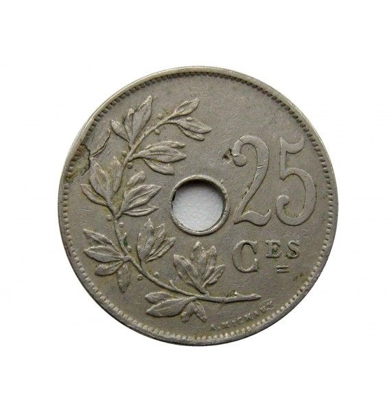 Бельгия 25 сантимов 1929 г. (Belgique)