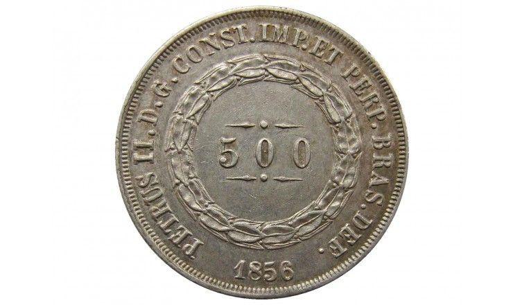 Бразилия 500 рейс 1856 г.