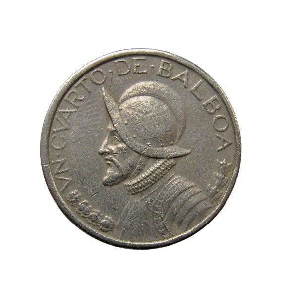Панама 1/4 бальбоа 2001 г.