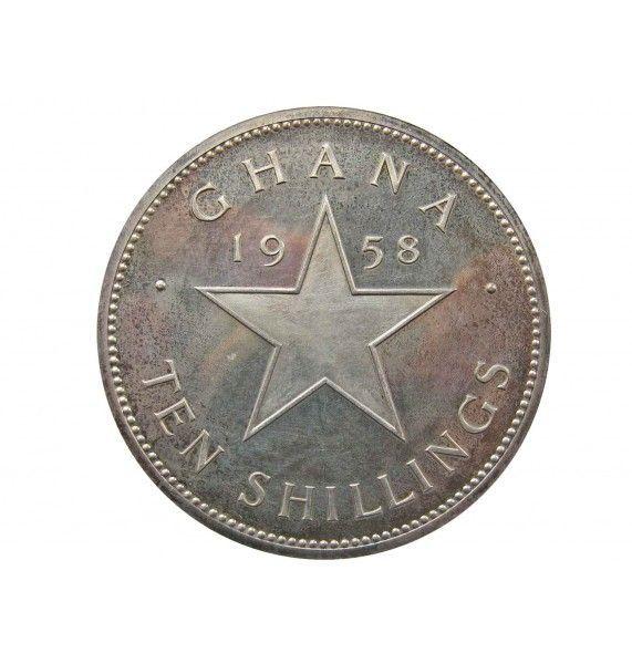 Гана 10 шиллингов 1958 г.