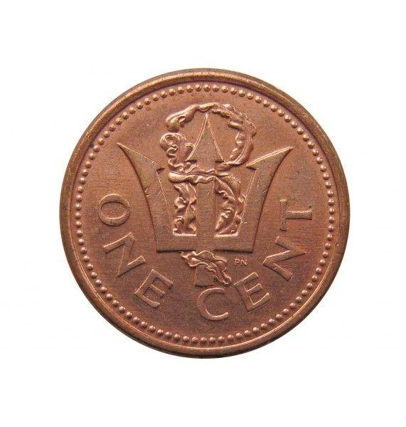 Барбадос 1 цент 2001 г.
