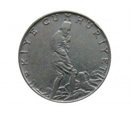 Турция 2 1/2 лиры 1968 г.