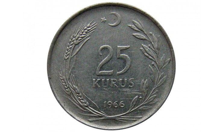 Турция 25 куруш 1966 г.