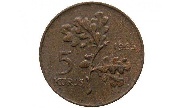 Турция 5 куруш 1965 г.