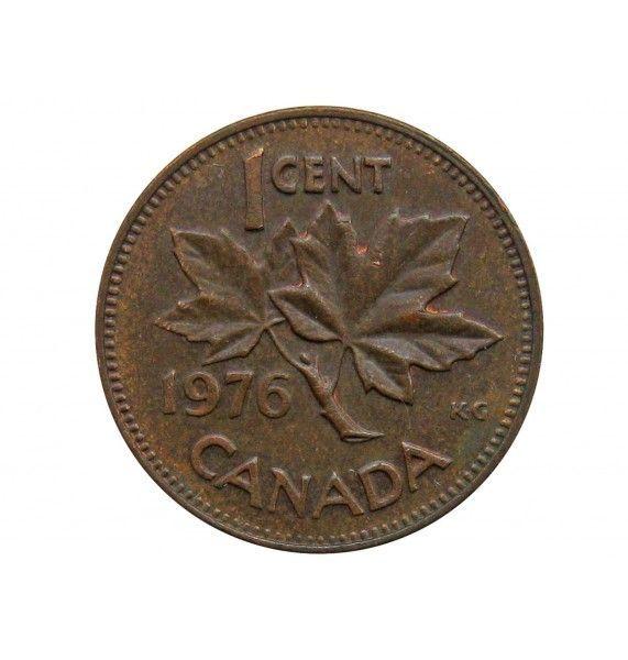 Канада 1 цент 1976 г.