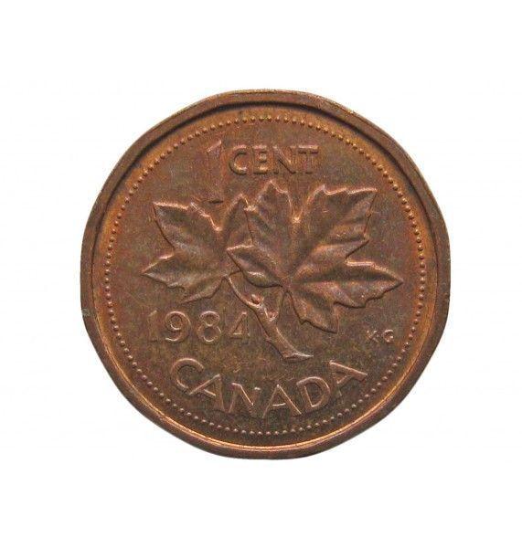 Канада 1 цент 1984 г.