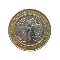 Остров Мэн 2 фунта 2003 г. AA