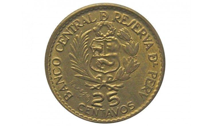 Перу 25 сентаво 1965 г. (400 лет Монетному двору Лимы)