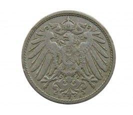 Германия 10 пфеннигов 1901 г. E
