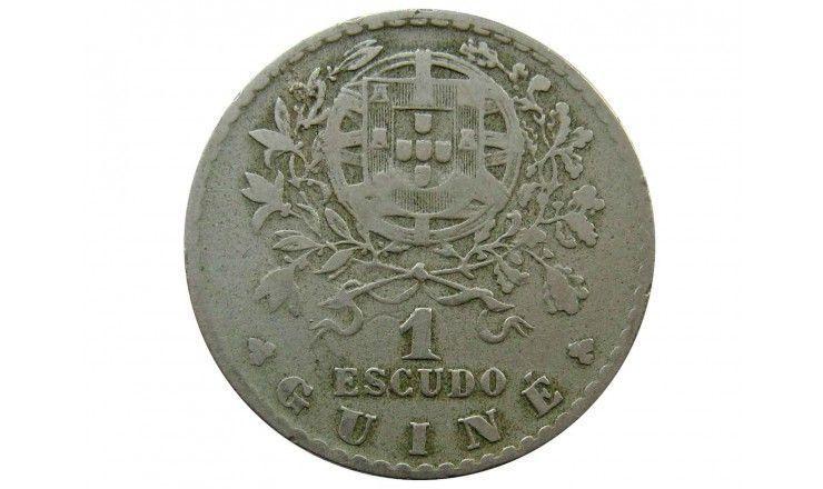 Гвинея 1 эскудо 1933 г.