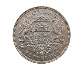 Латвия 1 лат 1924 г.