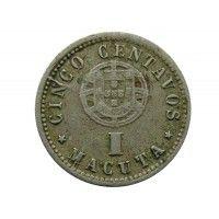 Ангола 5 сентаво (1 макута) 1927 г.