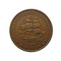 Южная Африка 1 пенни 1930 г.