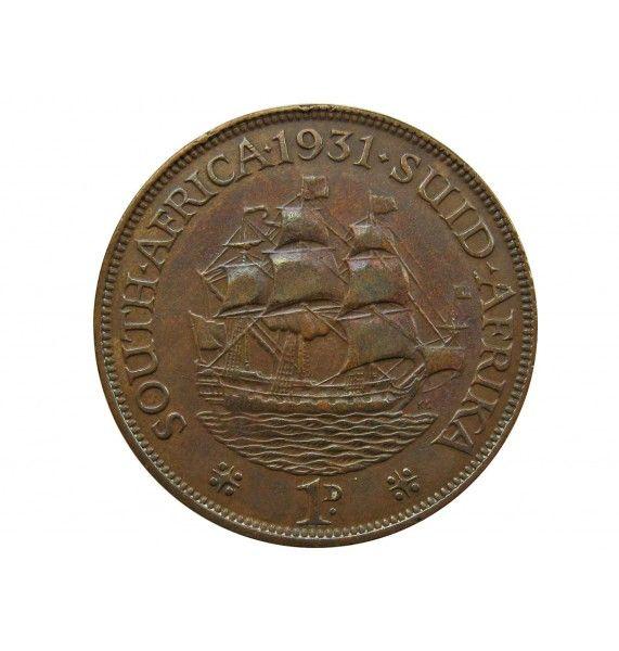 Южная Африка 1 пенни 1931 г.