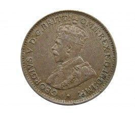 Британская Западная Африка 3 пенса 1913 г.