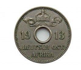 Германская Восточная Африка 5 геллеров 1913 г. J