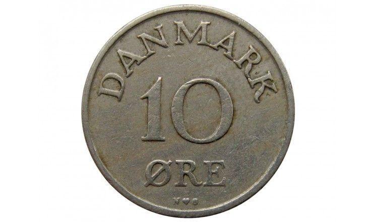 Дания 10 эре 1950 г.