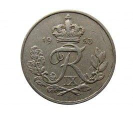 Дания 10 эре 1953 г.