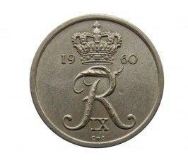 Дания 10 эре 1960 г.