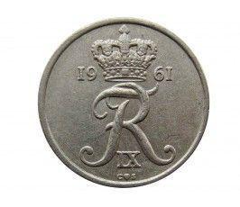 Дания 10 эре 1961 г.