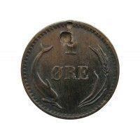 Дания 1 эре 1880 г.