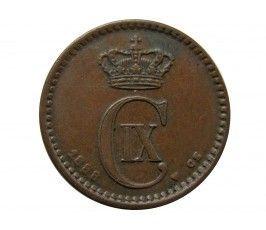 Дания 1 эре 1888 г.