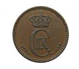Дания 1 эре 1902 г.
