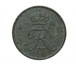 Дания 1 эре 1961 г.