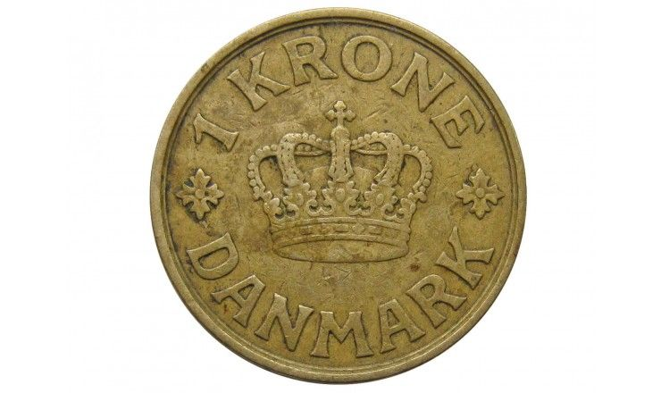 Дания 1 крона 1934 г.