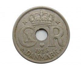 Дания 25 эре 1936 г.