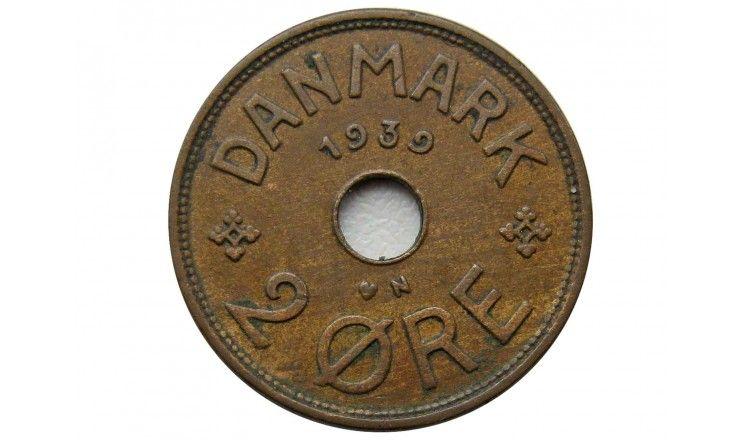 Дания 2 эре 1939 г.