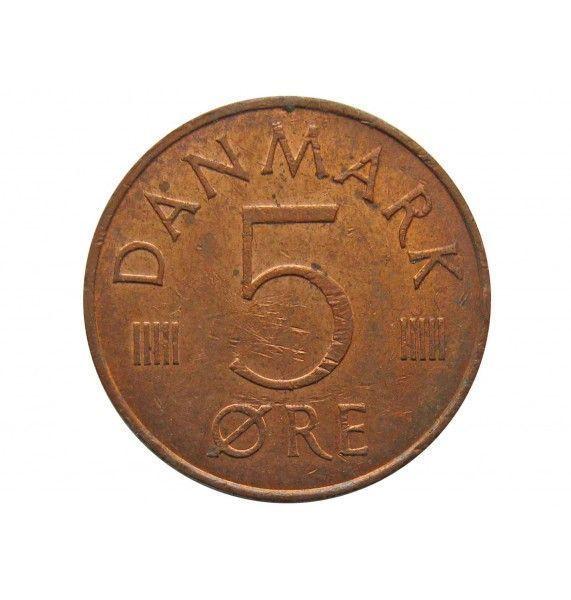 Дания 5 эре 1982 г.