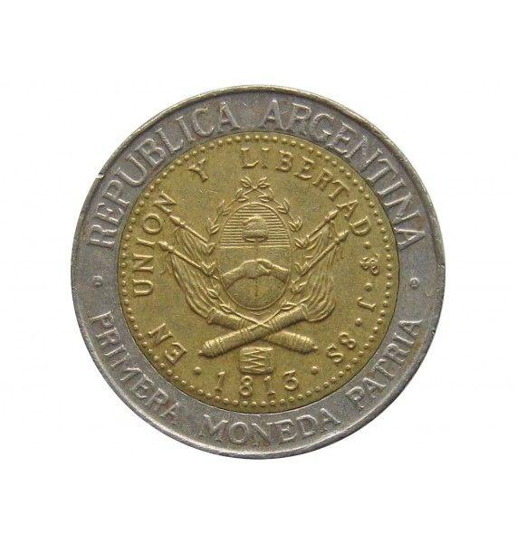 Аргентина 1 песо 1995 г.