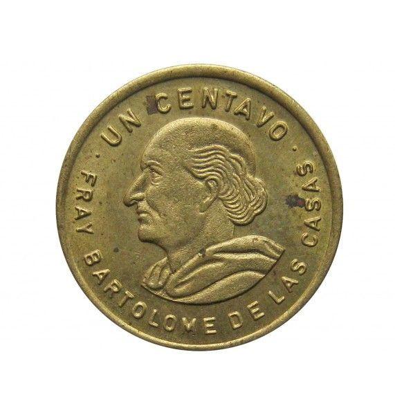 Гватемала 1 сентаво 1990 г.