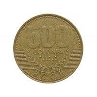 Коста-Рика 500 колон 2003 г.