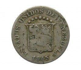 Венесуэла 5 сентимо 1945 г.