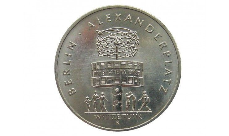 Германия 5 марок 1987 г. (750 лет Берлину – Александрплац)