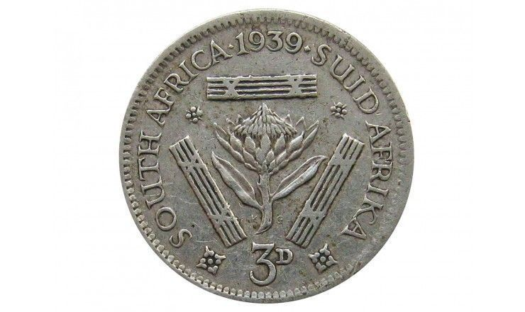 Южная Африка 3 пенса 1939 г.