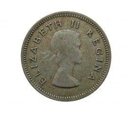 Южная Африка 3 пенса 1955 г.