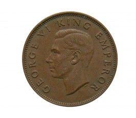 Новая Зеландия 1/2 пенни 1947 г.